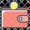 Wallet Purse Coin Icon