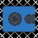 Wallet Purse Saving Icon