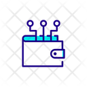 Wallet Money Connection Finance Icon