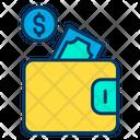Wallet Money Dollar Icon