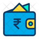 Rupees Wallet Cash Icon