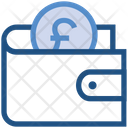 Wallet Pound Payment Icon