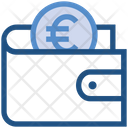 Wallet Euro Payment Icon
