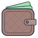 Wallet Accessories Clothes Icon