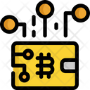 Wallet Bitcoin Cryptocurrency Icon