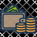 Cash Wallet Money Icon