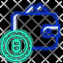 Bitcoin Wallet Wallet Bitcoin Icon