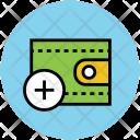 Wallet Purse Add Icon
