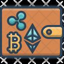 Wallet Digital Money Icon