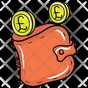 Wallet Purse Billfold Wallet Icon