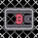 Bitcoin Wallet Crypto Icon