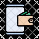 Wallet Saving Money Icon