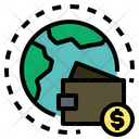 World Online Money Icon