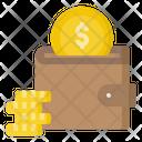 Wallet Coins Purse Icon