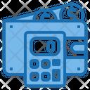 Wallet Calculator Tools Account Icon
