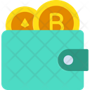 Wallet Cryptocurrency Wallet Coins Icon
