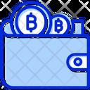 Wallet Bitcoin Wallet Money Icon