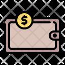 Wallet Bank Coin Icon