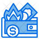 Wallet Currency Financial Icon