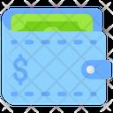 Wallet Cash Wallet Notecase Icon