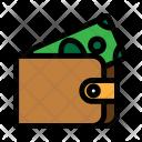 Wallet Finance Billfold Icon