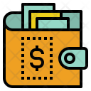 Wallet Income Expense Icon