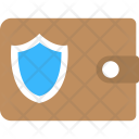 Wallet Shield Safety Icon