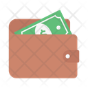 Cash Money Purse Icon