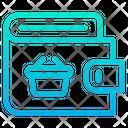 Wallet Basket Icon