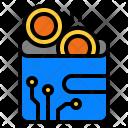 Wallet Bitcoin Icon