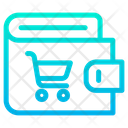Wallet Cart Icon