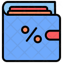Black Friday Wallet Cyber Monday Icon