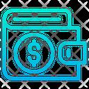 Wallet Dollar Icon