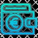 Wallet Euro Icon