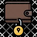 Wallet Lock Icon