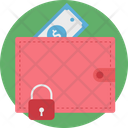 Wallet Protection Lock Secure Money Icon