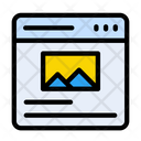 Webpage Browser Ux Icon