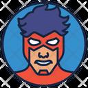 Wally West Warrior Superhero Icon