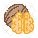 Walnut Nut Food Icon
