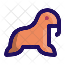 Walrus Mammal Sea Icon