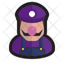 Waluigi Gamer Plumber Icon