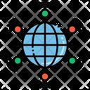 Wan Network Lan Icon