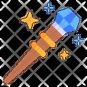 Witch Wand Wand Magic Stick Icon