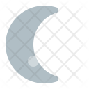 Waning Crescent Weather Icon
