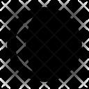 Waning Crescent Phase Icon