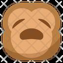 Want Monkey Emoji Icon