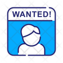 Wanted Wanted Poster Poster Icon