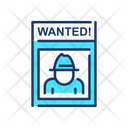 Wanted Criminal Photo Gangster Photo Icon