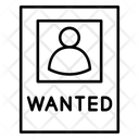 Prisoner Flyer Banner Icon