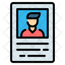 Wanted Poster Crime Icon